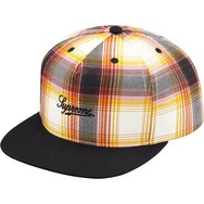 Printed Ombre Plaid 5-Panel